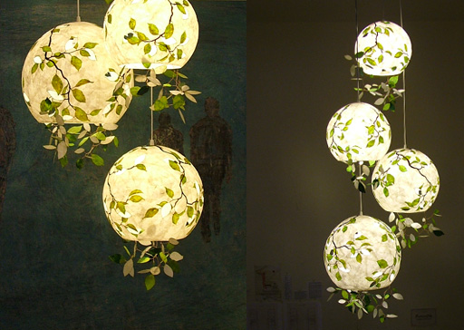 Leaflamp lamp design by KanguLUM
