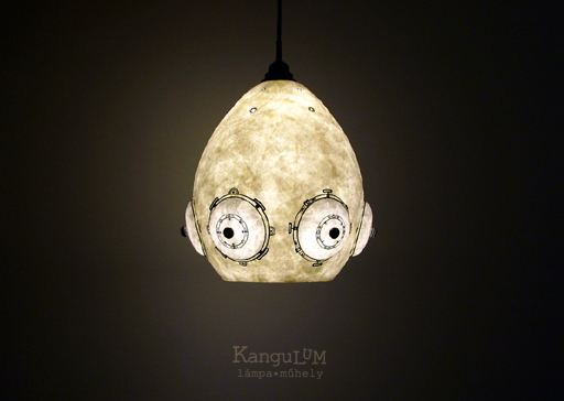Umbrelli lamp design by KanguLUM